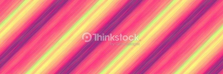 Rayures Diagonales Mixtes De Peinture Épaisse Dans Les Tons Rose ...