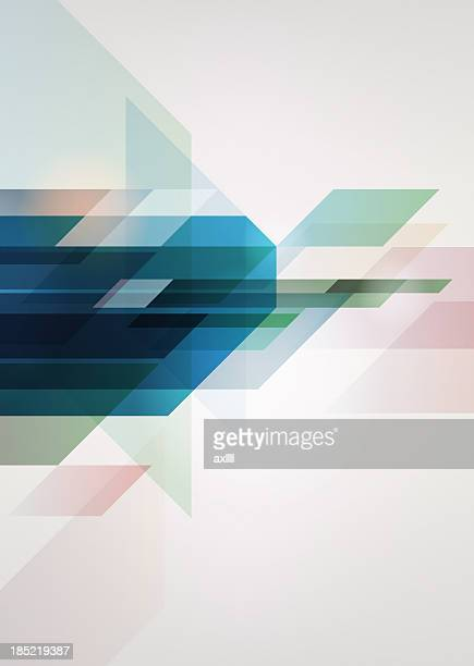 A blue and white abstract background