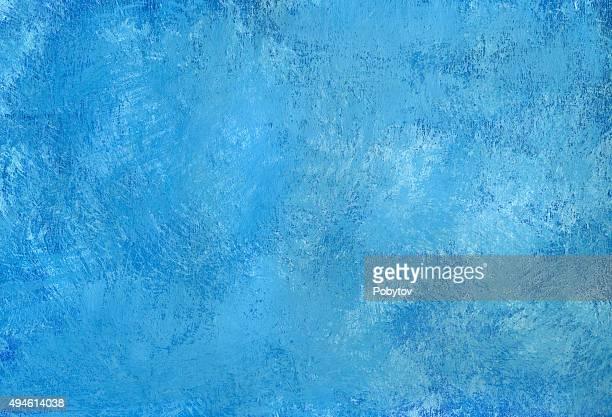 Fondo azul pintado