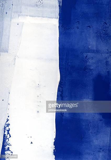 Blue white vertical