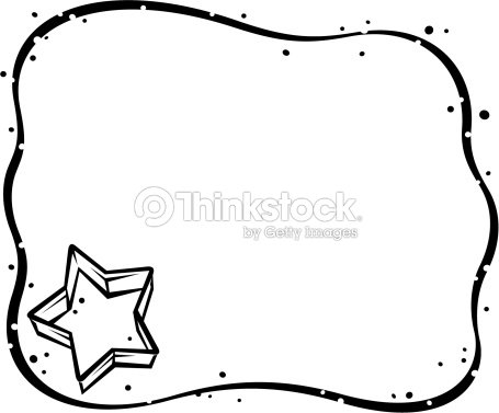 Border Cookie Dough With Cutter Vector Art | Thinkstock