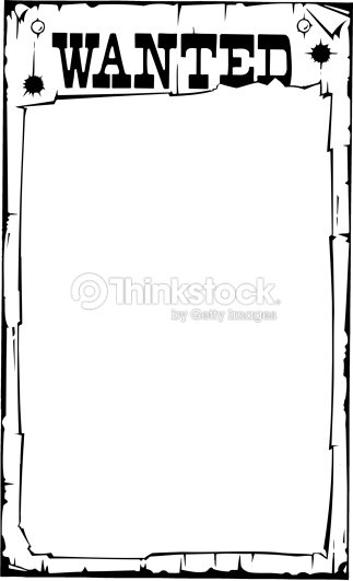 Border Heading Wanted Poster Clipart Vectoriel Thinkstock