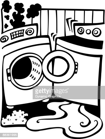 Washer And Dryer Clipart broken washer and dryer in need of repair an unscheduled trip to