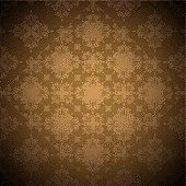 brown seamless background with overlap square design with faded edge