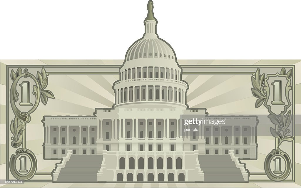 US Budget : Vector Art