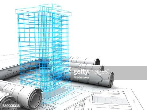 Gebäude-design : Stock-Illustration