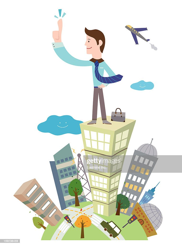 Business man : Stock Illustration