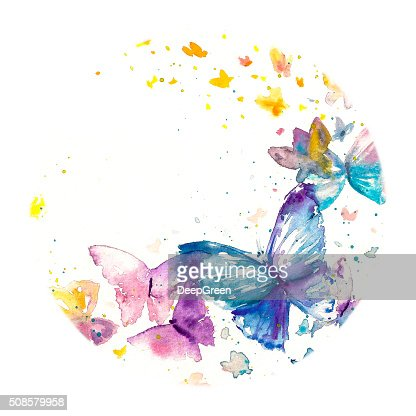 Butterfly : Stock Illustration