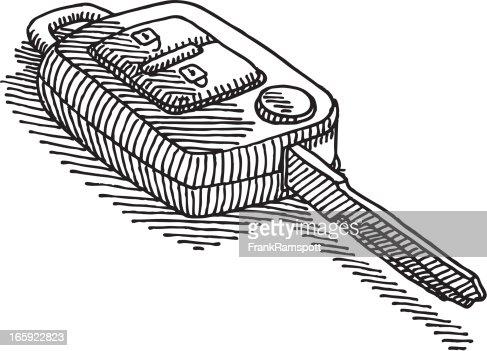 remote control drawing. keywords remote control drawing