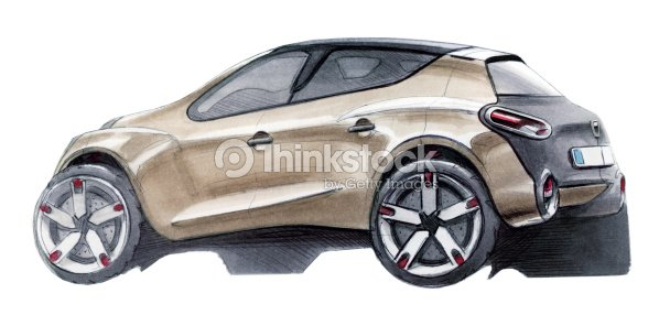 Car Suv Sketch Stock Illustration Thinkstock