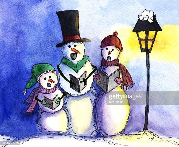 Caroling Bonhomme de neige
