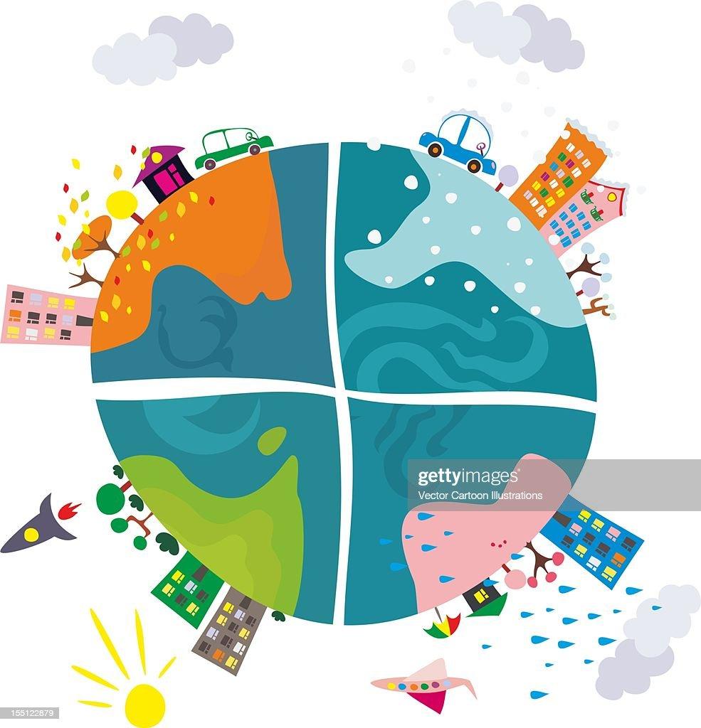 cartoon illustration : Stock Illustration