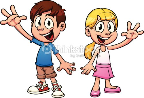 Cartoon kids vector art thinkstock