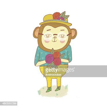 Macaco : Ilustração de stock