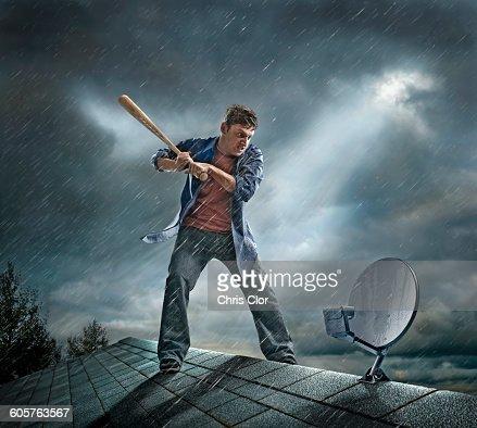 Love videos man swinging bat wanna