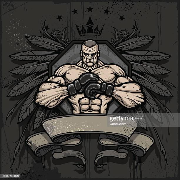 MMA champion crest