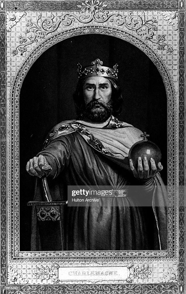 <a gi-track='captionPersonalityLinkClicked' href=/galleries/search?phrase=Charlemagne&family=editorial&specificpeople=79057 ng-click='$event.stopPropagation()'>Charlemagne</a> (747 - 814), Christian emperor of the west, king of the Franks, circa 800 AD.