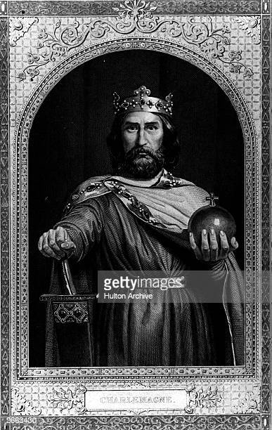 Charlemagne Christian emperor of the west king of the Franks circa 800 AD