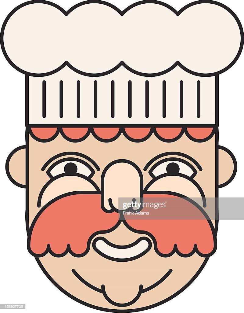 A chef : Stock Illustration