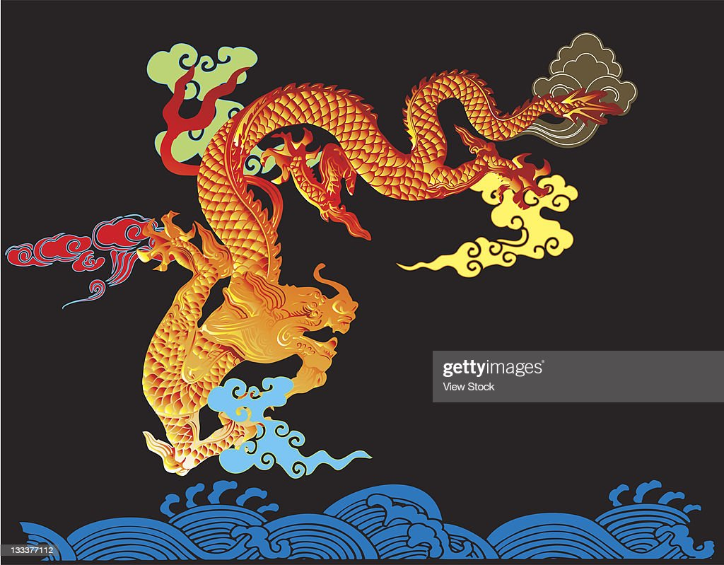 chinese culture,illustration : Stock Illustration