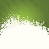 Christmas blue Background with snowflakes. Vector illustration