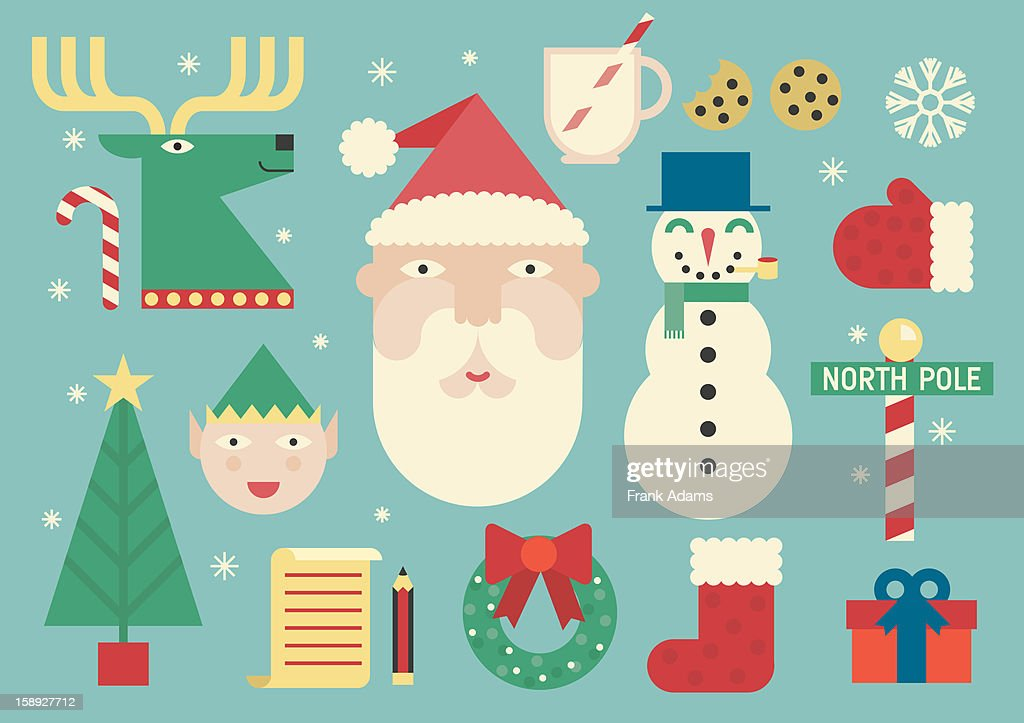 Christmas images : Stock Illustration