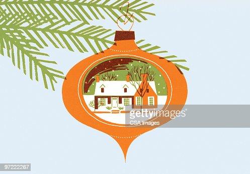 Christmas tree ornament : Stock Illustration