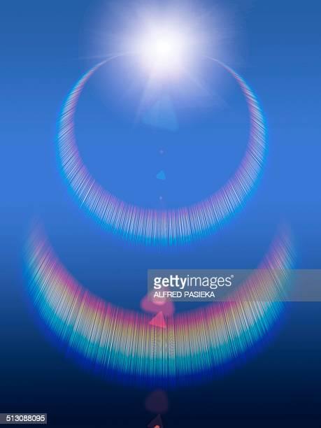 Chromatic reflections, artwork