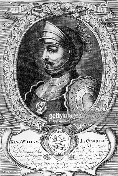 Circa 1070 William I the Conqueror King of England from 1066 when he beat Harold II at Hastings and was crowned at Westminster Abbey on Christmas Day