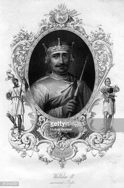 Circa 1090 William II or Rufus The Red the King of England from 1067 and the second son of William the Conqueror