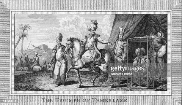 Circa 1375 Tamerlane Mongol conqueror who subdued his rivals in Turkistan and campaigned against Perece He invaded the Russian states as well as...