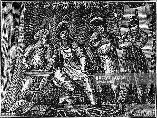 Circa 1380 Tamerlane Mongol conqueror who subdued his rivals in Turkistan and campaigned against Perece He invaded the Russian states as well as...