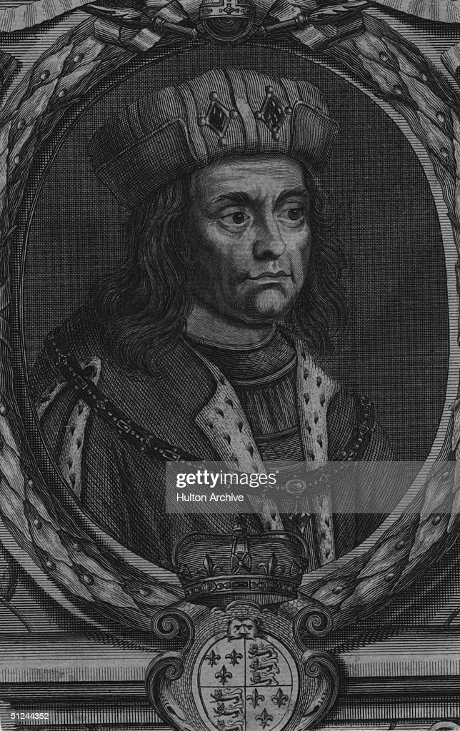Circa 1465, Richard III (1452 - 1485), King of England from 1483 and youngest brother of Edward IV. It is believed that Richard was responsible for the murder of his nephews in the Tower of London, but this has never been proved.