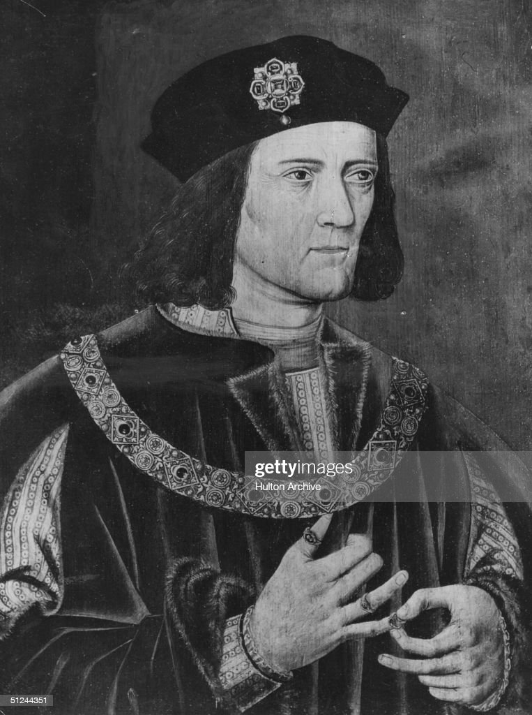 Circa 1475, Richard III (1452 - 1485), King of England from 1483 and youngest brother of Edward IV. It is believed that Richard was responsible for the murder of his nephews in the Tower of London, but this has never been proved.