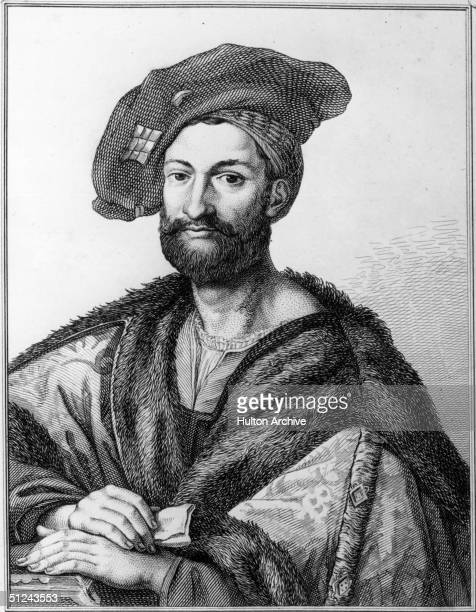 Circa 1510 Giuliano De' Medici Duke of Nemouro