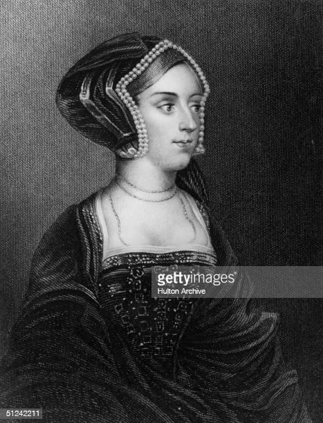 Circa 1530 Anne Boleyn wife of King Henry VIII of England