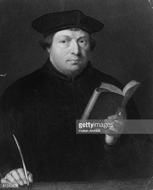 Circa 1530 German theologian and religious reformer Martin Luther