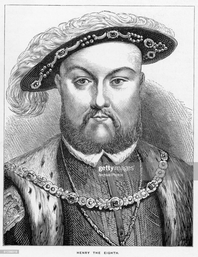 Circa 1530, Henry VIII of England (1491 - 1547). Reign 1509-47, broke with Papacy over divorce from Catherine of Aragon, 1533, made head of English church by Parliament, executed three wives and Thomas More (chancellor), 1535, made union of England and Wales, 1534-36.