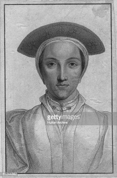 Circa 1535 Anne Boleyn 2nd wife of Henry VIII and daughter of Sir Thomas Boleyn She was accused of adultery when Henry tired of her and beheaded on...