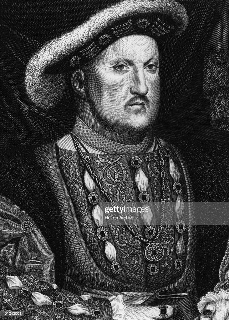 Circa 1540, Henry VIII (1491 - 1547), King of England from 1509, married six times.