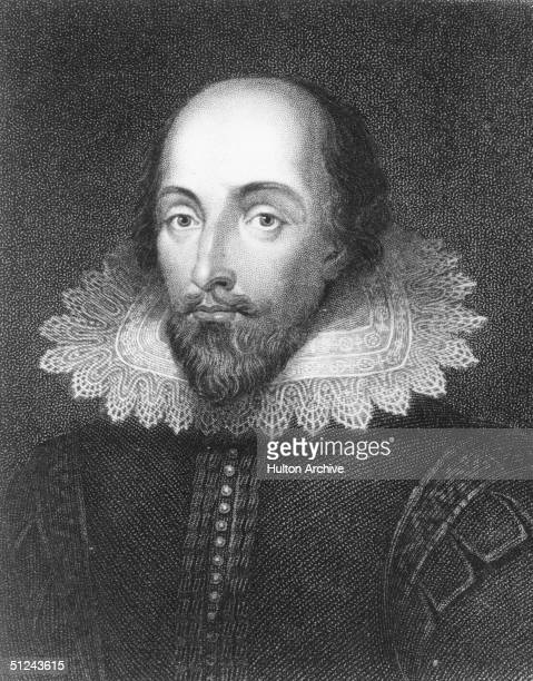 Circa 1585 English poet and playwright William Shakespeare