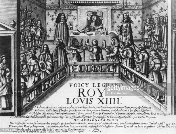 Circa 1668 King Louis XIV of France king from 1643 in office He was known as 'The Sun King'