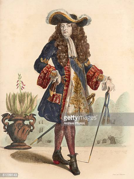 Circa 1670 Louis XIV of France nown as 'The Sun King who reigned from 1643 at age 5 as the son and successor of Louis XIII His mother Anne of Austria...