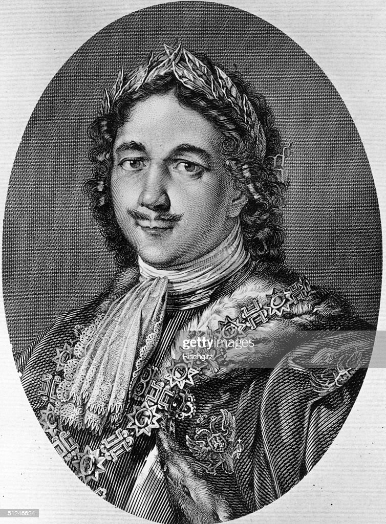 Circa 1700, Peter I (1672 - 1725), tsar of Russia from 1682.