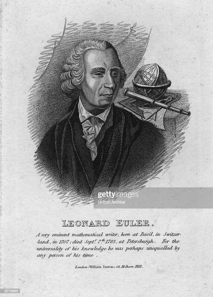 a biography of leonhard euler the swiss mathematician By matthew dai leonhard euler leonhard euler was a swiss mathematician who lived in the 18th and 19th centuries he is famous for many things, such as contributions to analytic geometry, trigonometry, geometry, calculus, and number theory.