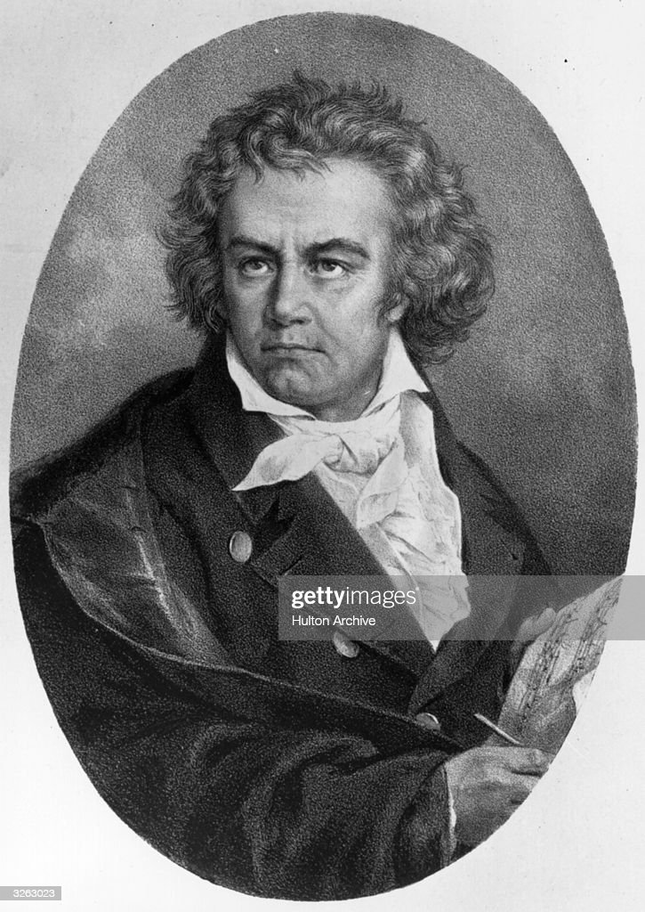 German composer <a gi-track='captionPersonalityLinkClicked' href=/galleries/search?phrase=Ludwig+van+Beethoven&family=editorial&specificpeople=67202 ng-click='$event.stopPropagation()'>Ludwig van Beethoven</a> (1770 - 1827).