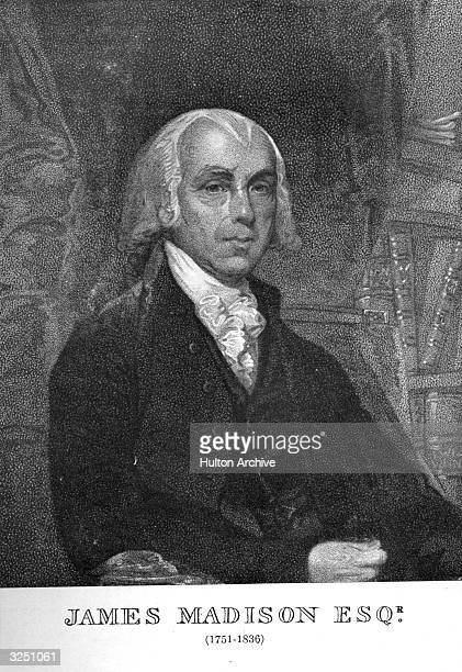 James Madison the 4th President of the United States of America In 1787 he took a leading part in drawing up the US Constitution and the Bill of...