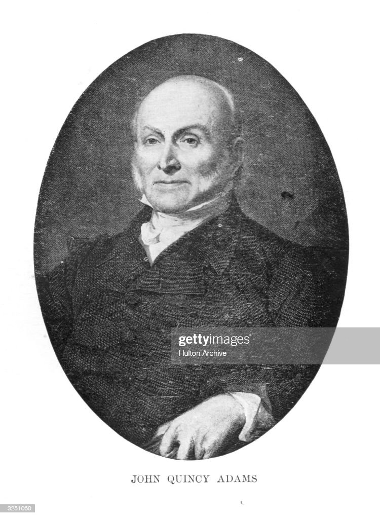 John Quincy Adams (1767 - 1848), the 6th President of the United ...