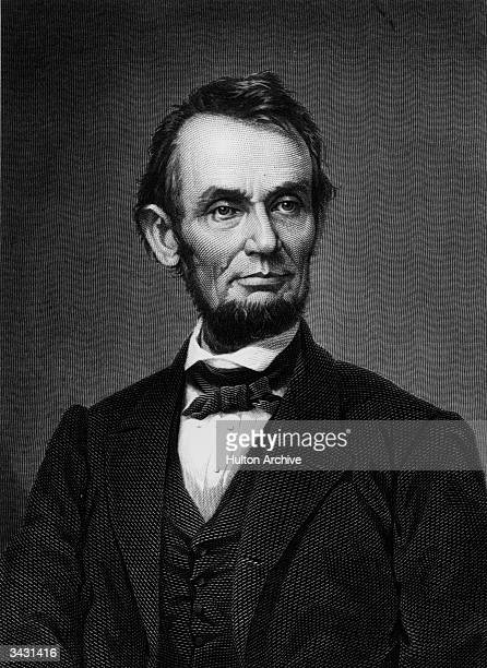 Abraham Lincoln the sixteenth president of the United States who abolished slavery and steered the Union to victory in the American Civil War