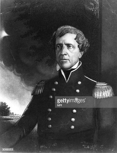 Colonel Stephen Kearney an American officer who attempted to placate the hostile Sioux along the vital Oregon trail to the Pacific Northwest...